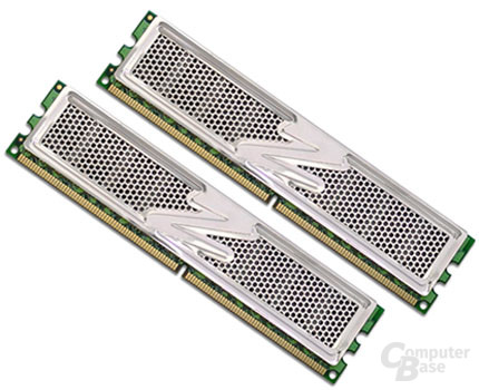 OCZ DDR2 PC2-5400 Platinum Enhanced Latency XTC Dual Channel