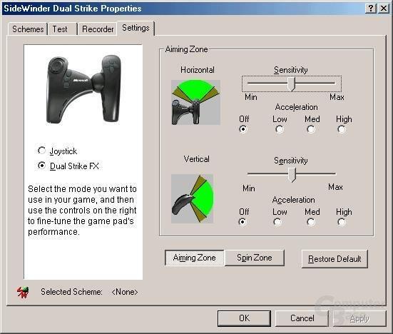 Microsoft Sidewinder Dual Strike