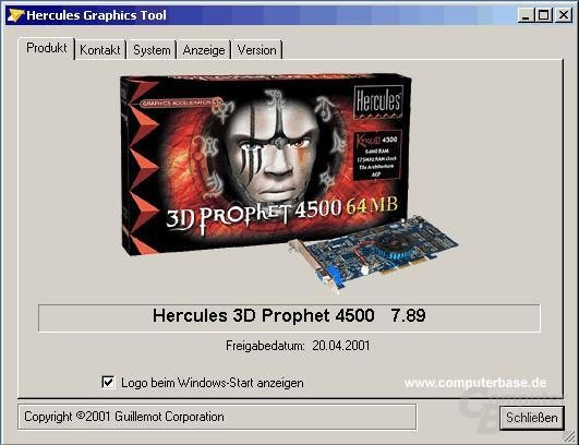 Treiber: Produkt