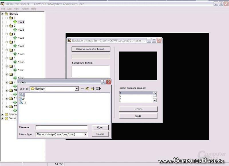 Windows XP Bootlogo modifizieren