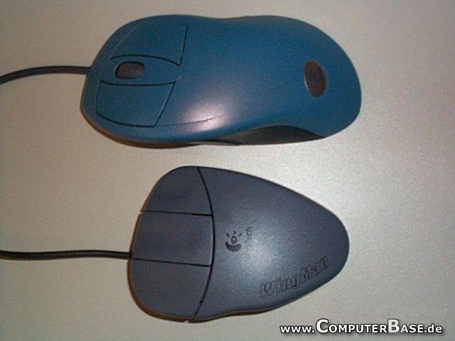 Die Wingman Gaming Mouse ist kürzer als die eigene Verwandtschaft