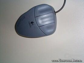 Die Wingman Gaming Mouse von oben