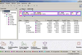 PowerQuest Partition Magic 7.0