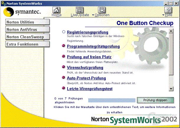 One Button CheckUp