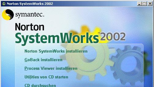 Norton SystemWorks 2002 im Test: Von A wie Antivirus bis U wie Utilities