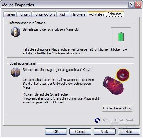 Software: Batterie