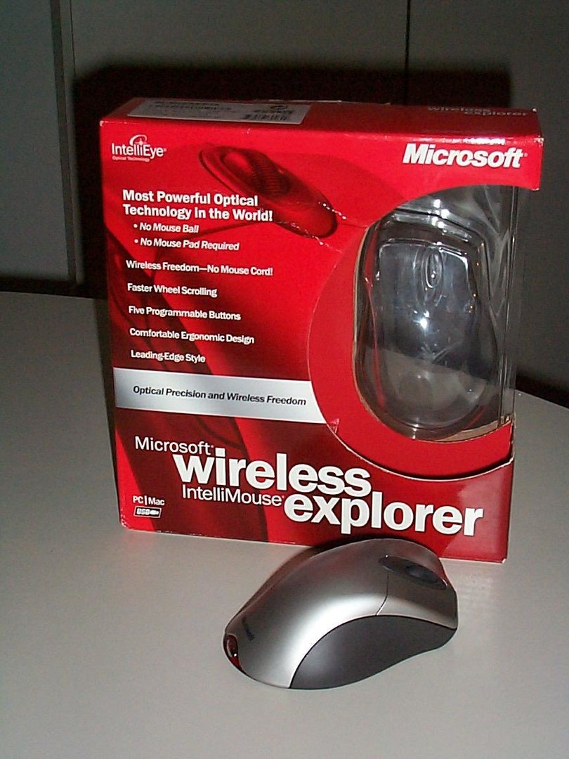 wireless intellimouse explorer im test die optische. Black Bedroom Furniture Sets. Home Design Ideas