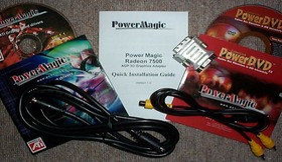 Kabel und CDs