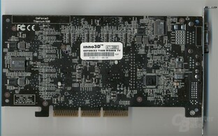 Inno3D GeForce3 Ti500 Back