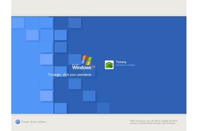 Windows XP Logon Watercolour