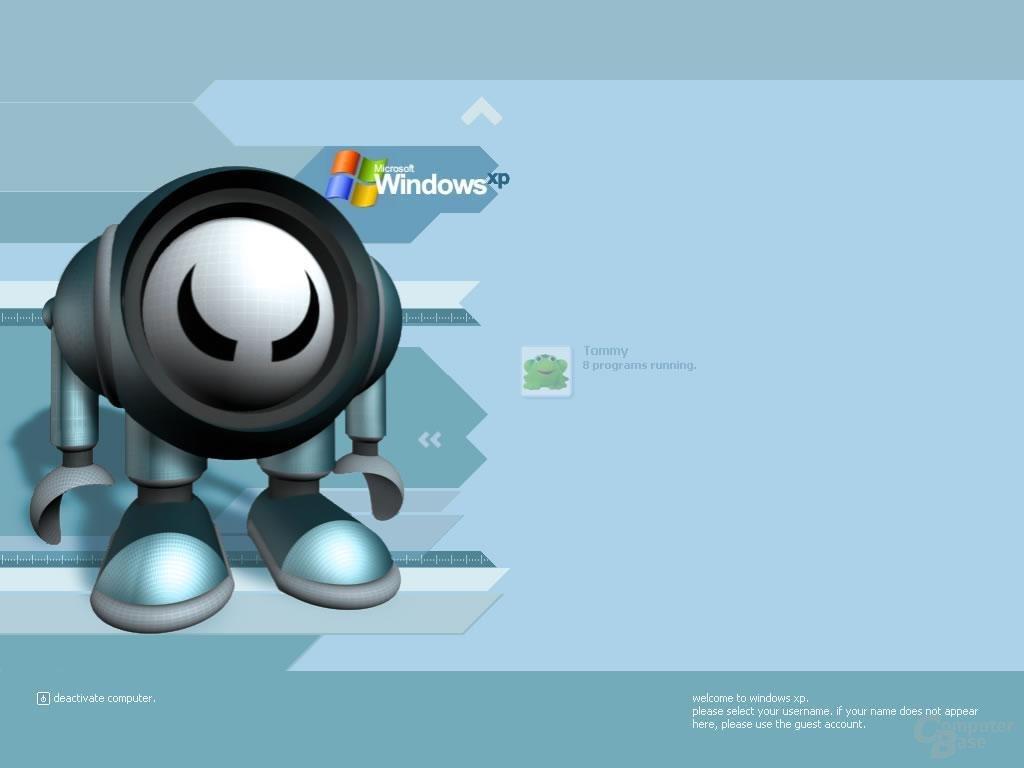 Windows XP Logon Robot
