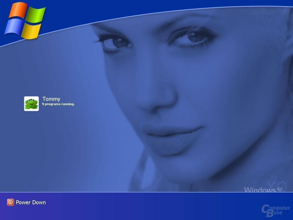 Windows XP Logon Jolie