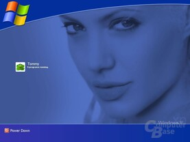 Windows XP Logon Jolie