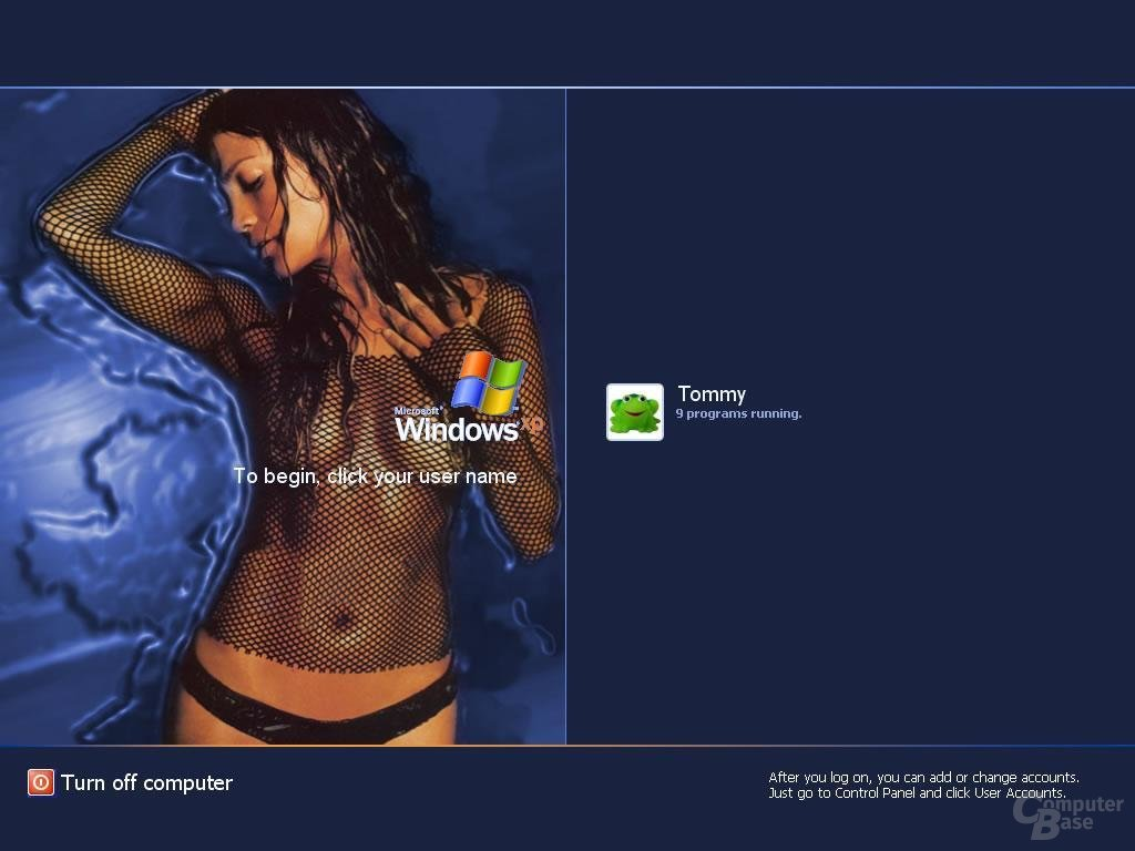 Windows XP Logon Lopez