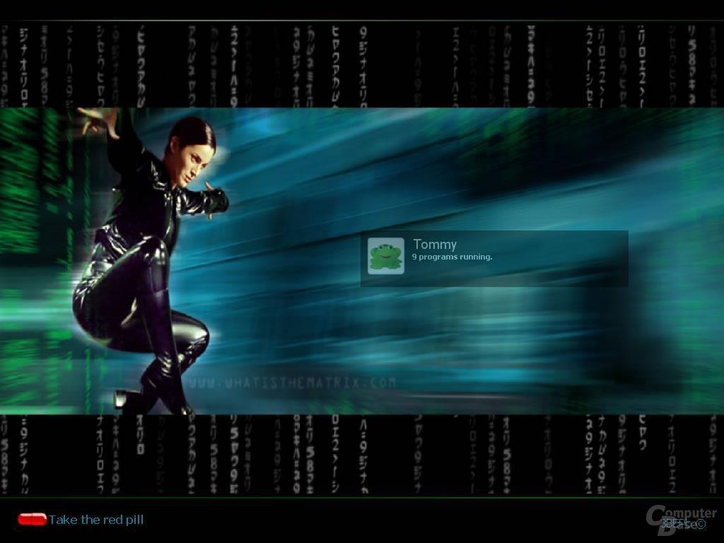 Windows XP Logon Matrix