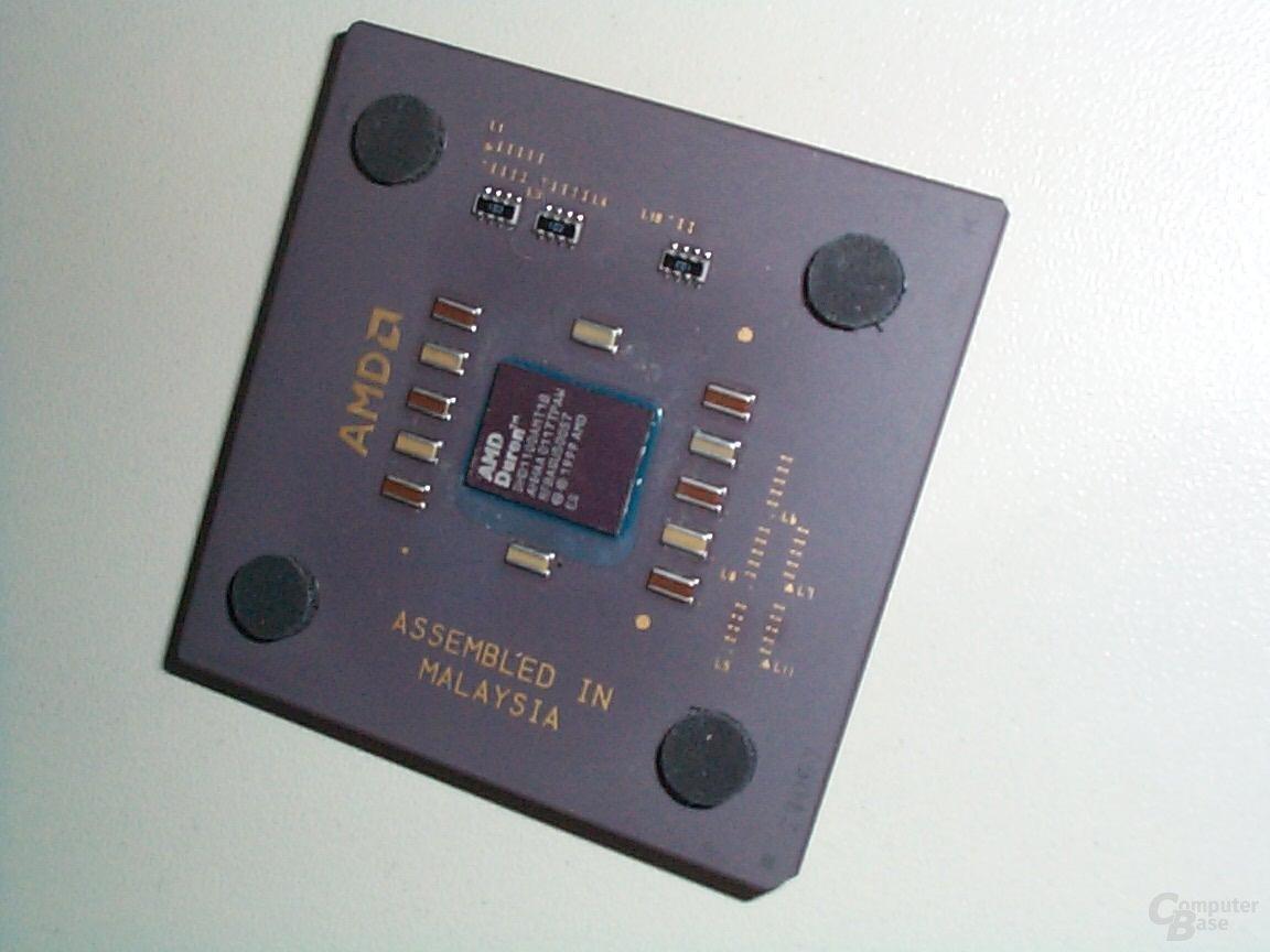 AMD Duron mit Morgan Kern