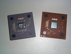 Neuer und alter Athlon von Oben