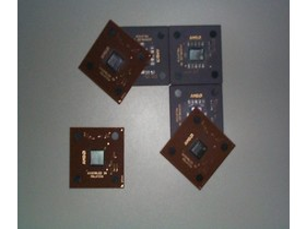 AMD Logo aus Prozessoren