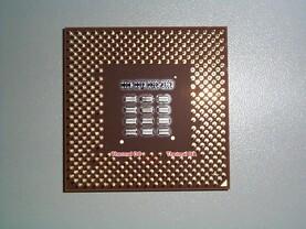 Die Pins der Temperatur-Diode
