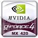 GeForce4 MX420 Logo