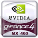 GeForce4 MX460 Logo