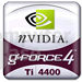 GeForce4 Ti 4400 Logo