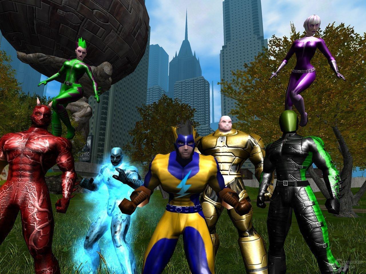 City of Heros nutzt Vertex und Pixel-Shaders