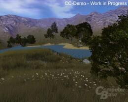 Codecreatures Engine Wassereffekte nutzen Vertex und Pixel-Shaders
