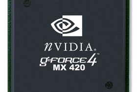 GeForce4 MX 420 Chip
