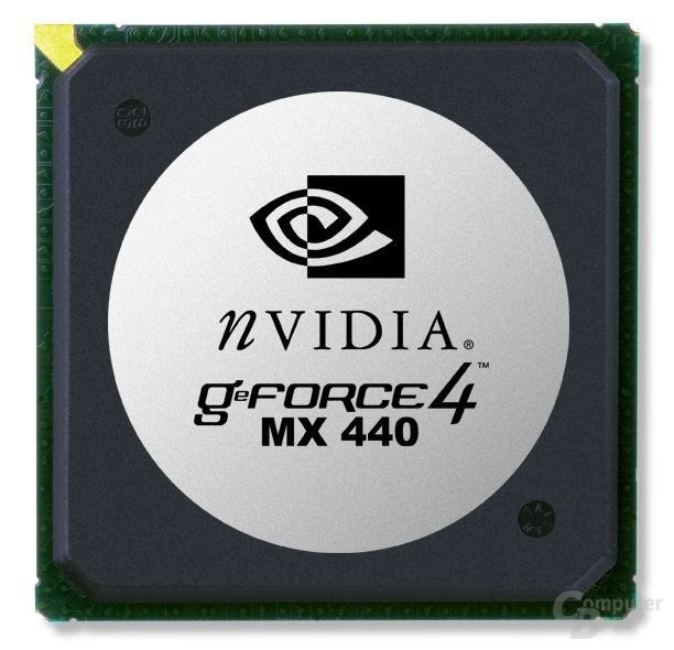 GeForce4 MX 440 Chip