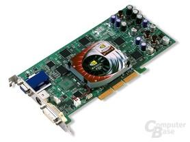 GeForce4 Ti Karte mit VGA und DVI
