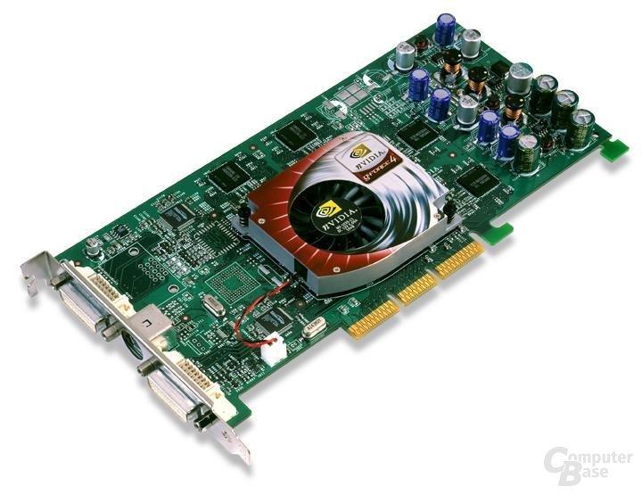 GeForce4 Ti Karte mit Dual DVI