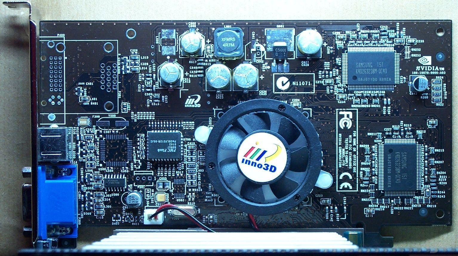 Inno3D Tornado GeForce4MX 440