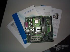 P4 Board mit Beschreibungen