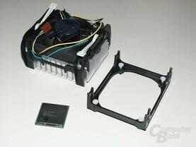Pentium4 mit Boxed-Kühler und Rentention Modul