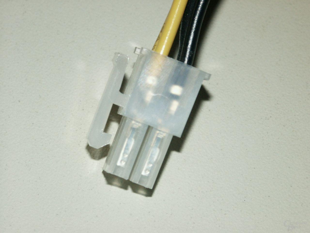 4-poliger 12V Stecker
