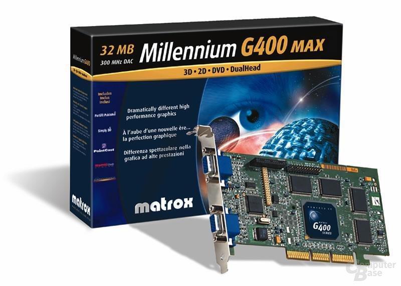 Matrox Millenium G400 MAX