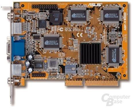 nVidia Riva128 (mit Kühlkörper von ASUS)