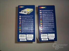 Verpackung CRW-3212A und CRW-4012A