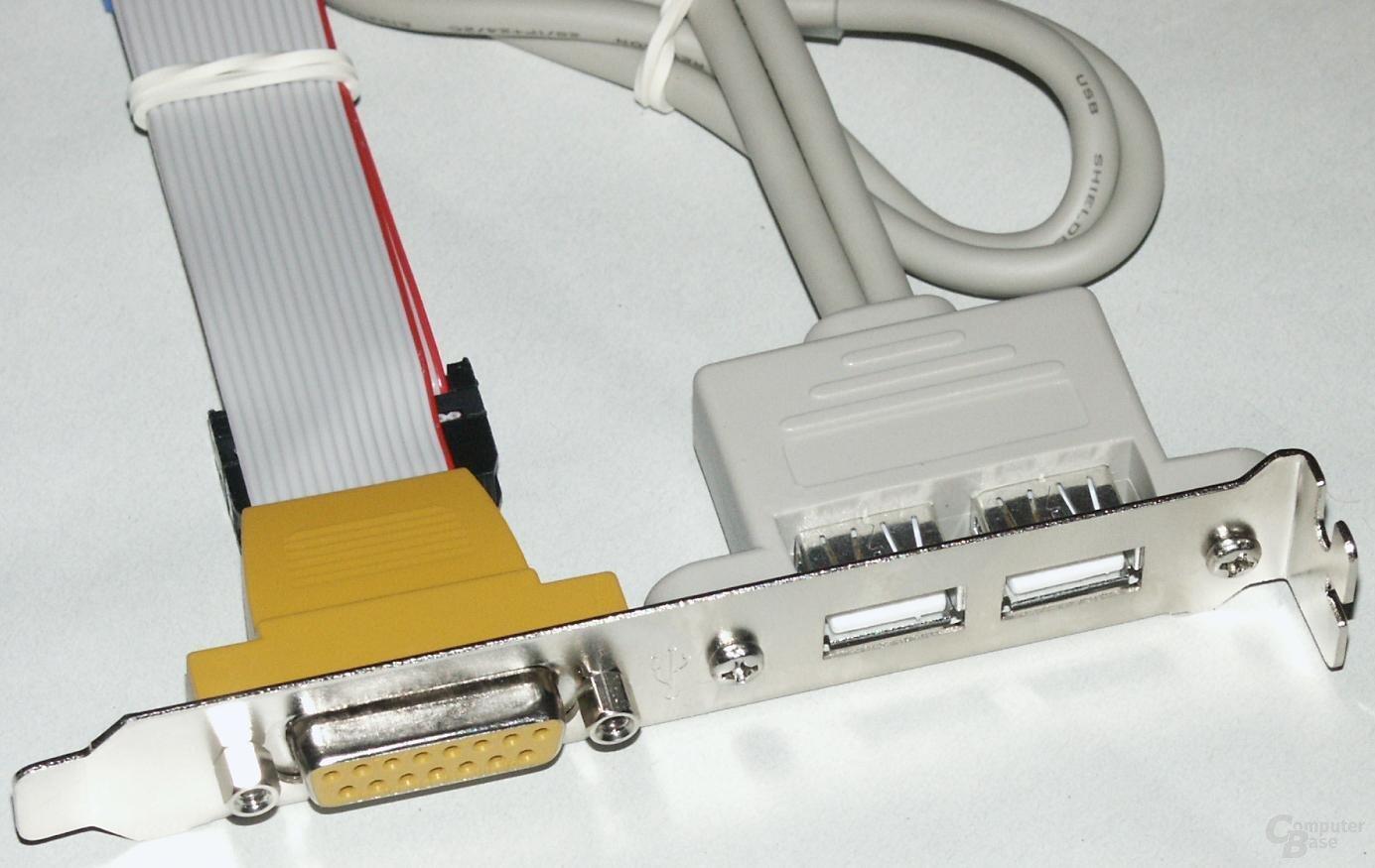 P4B266-E Game- und USB-Modul