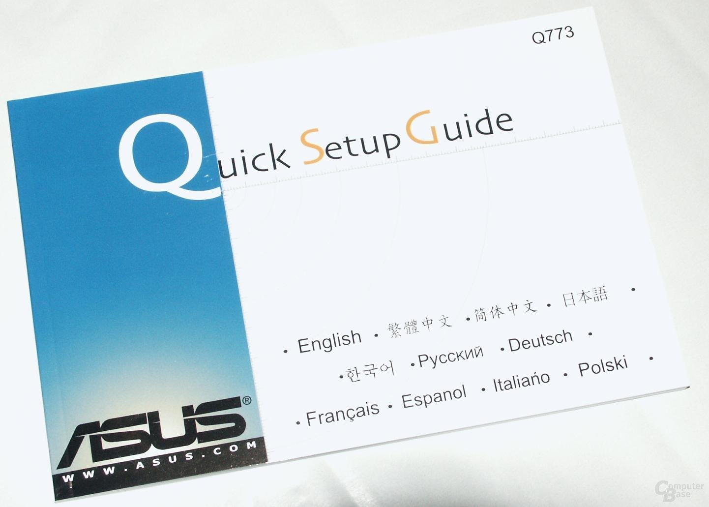 Quick Setup Guide