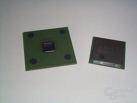 2,4/533 GHz Intel Pentium 4 und Athlon XP 2100+