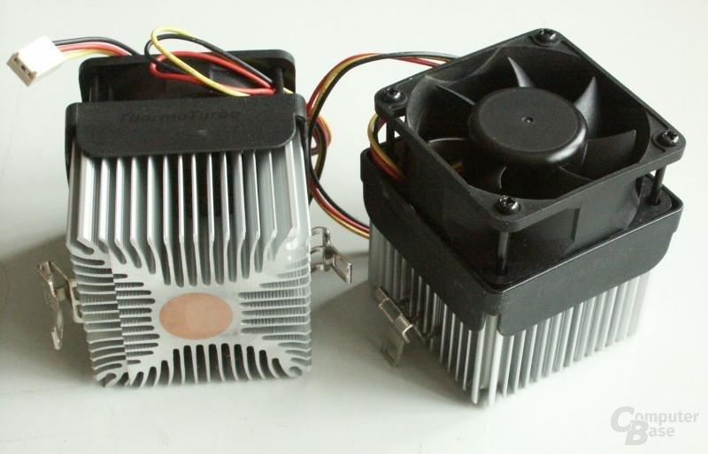 Testaufbau - Cooler