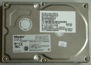 Testaufbau - Festplatte