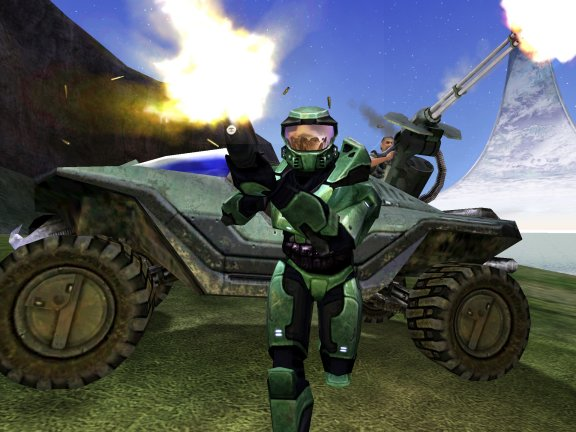 Halo in Action
