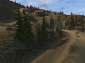 Rallisport Landschaften