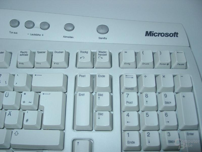 Microsoft Office Keyboard Detail