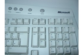 Microsoft Office Keyboard Detail