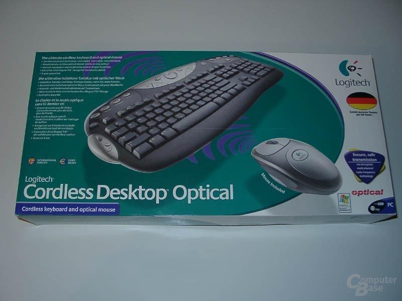 Logitech Cordless Desktop Optical