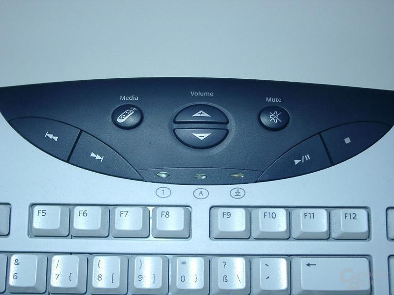 Logitech Navigator Keyboard Multimedia